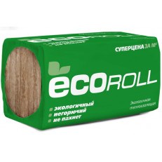 Кнауф Инсулейшн ЭКОРОЛЛ / Knauf Insulation Ecoroll (Ekoroll) Утеплитель (1230х610х50) (12м2=0,6м3)
