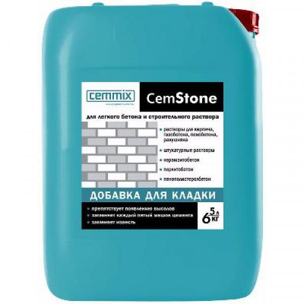 Добавка пластификатор для кладочных растворов Cemmix CemStone 5 л