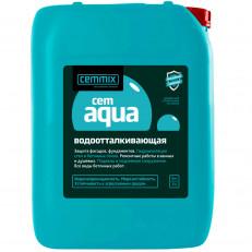 Добавка пластификатор водоотталкивающая (гидроизоляционная) Cemmix CemAqua 5 л