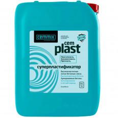 CEMMIX CemPlast добавка суперпластификатор бетонов и растворов (5 л)
