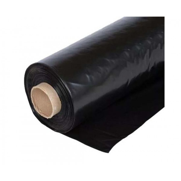Пленка полиэтиленовая БПС Light3*100 (300м2) 080мкм Черная