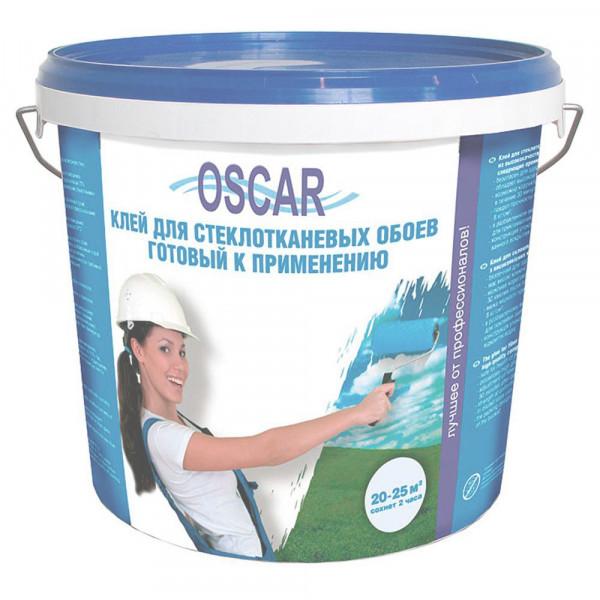 """Клей """"OSCAR"""" (ОСКАР) 10 кг для стеклотканевых обоев (стеклообоев), готовый к применению"""