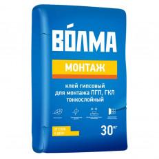 Гипсовый монтажный клей Волма Монтаж 30кг