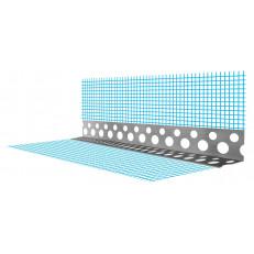 Перфорированный угловой профиль (перфопрофиль) ПУ СТМ 20*20мм (0,5) 3м