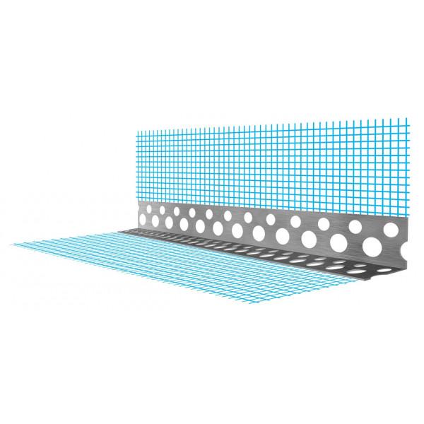 Перфорированный угловой профиль (перфопрофиль) ПУ СТМ 20*20мм (0,3) 3м