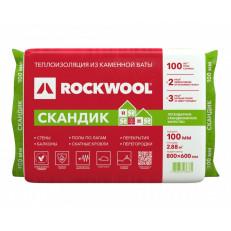 Rockwool / РОКВУЛ Скандик 800х600х50 мм (5,76м2) (0,288м3)