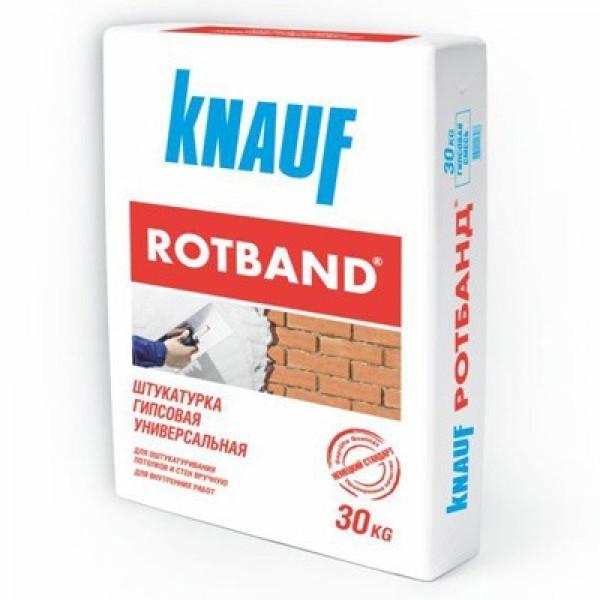 Штукатурка гипсовая 30кг Knauf Rotband / Кнауф Ротбанд