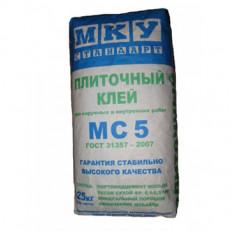 Плиточный клей МС-5 МКУ 25кг