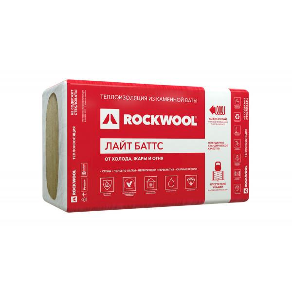 ROCKWOOL / РОКВУЛ Лайт Баттс 1000*600*50 мм / 4,8 м2 / 0,24 м3