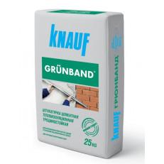 Штукатурка Knauf Grunband / Кнауф Грюнбанд 25кг цементная фасадная
