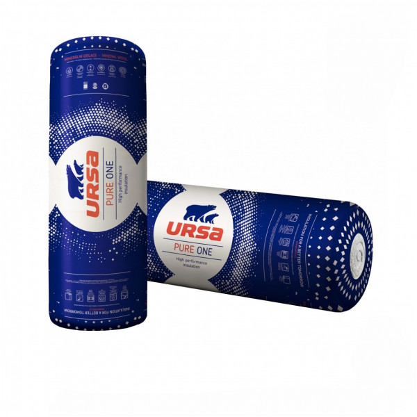 URSA / УРСА PureOne 34PN 1250*600*100 (4,5м2) (0,45м3)
