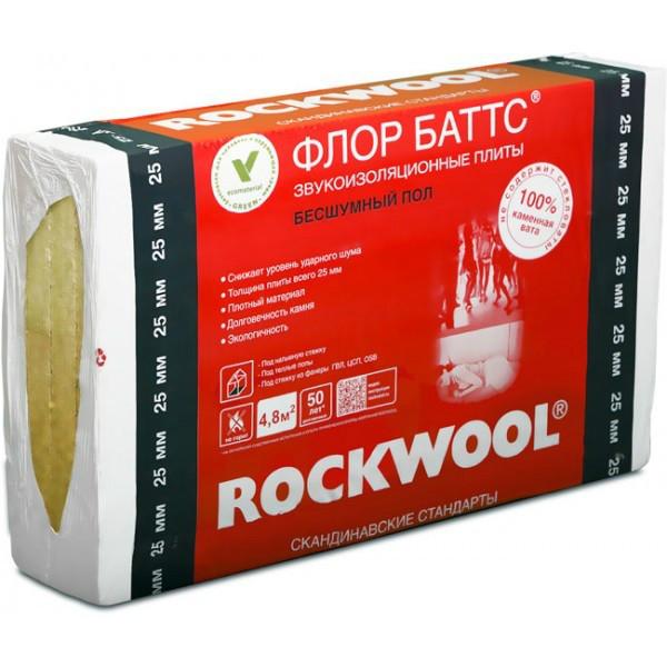 Rockwool Флор Баттс 100 мм