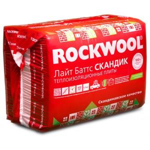 Rockwool / Роквул Лайт Баттс Скандик 100 мм